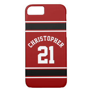 Football Jersey Novelty Personalized Name iPhone 7 Case