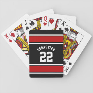 Football Jersey Novelty Personalized Name Playing Cards