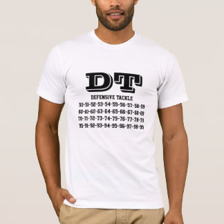 Football jersey numbers Tee-shirt T-Shirt