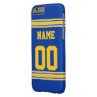 Football Jersey with Area To Customise Barely There iPhone 6 Case
