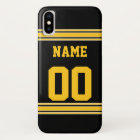 Football Jersey with Area To Customise iPhone X Case
