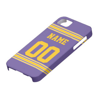 Football Jersey with Area To Customize Barely There iPhone 5 Case