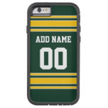Football Jersey with Custom Name Number Tough Xtreme iPhone 6 Case