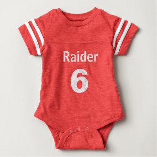 Football Jersy Onsie Baby Bodysuit