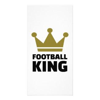 Football King champion Customized Photo Card