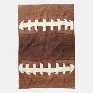 Football Laces Graphic Tea Towel