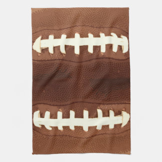Football Laces Graphic Towels