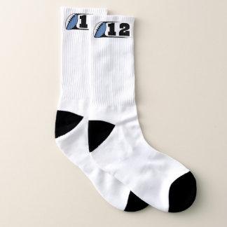 Football Large All-Over-Print Socks 1