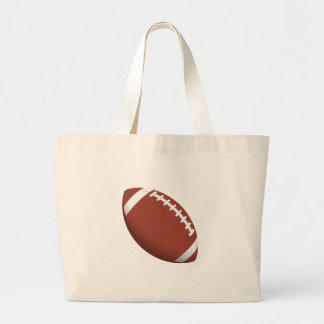 Football! Large Tote Bag