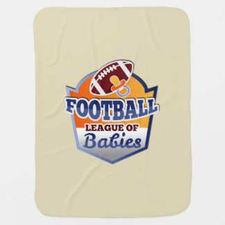 Football | League of Babies Baby Blanket