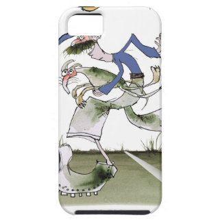 football left wing blue kit case for the iPhone 5