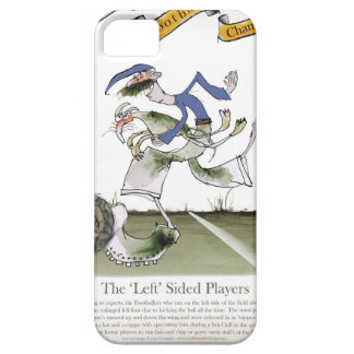 football left wing blue kit iPhone 5 cover
