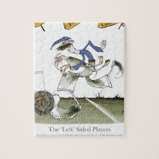 football left wing blue kit jigsaw puzzle