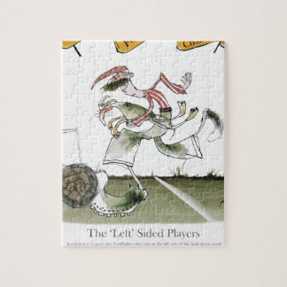 football left wing, red white kit jigsaw puzzle