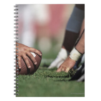 Football line of scrimmage notebooks