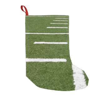 Football Lines Small Christmas Stocking