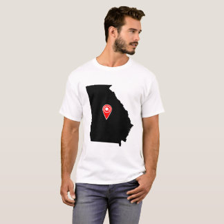 FOOTBALL LOCATION IN GEORGIA, FOOTBALL,GEORGIA T-Shirt