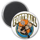 Football Logo Fridge Magnet
