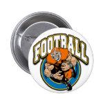 Football Logo Pin