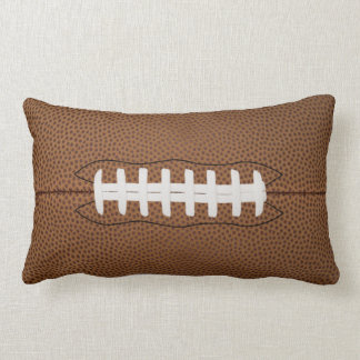 football lumbar pillow