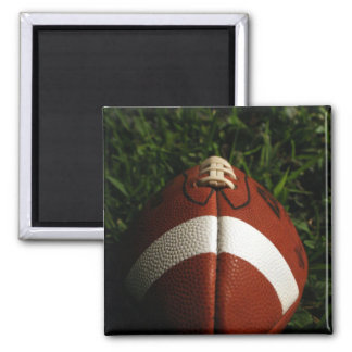 Football Square Magnet