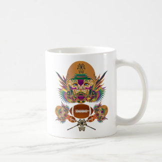 Football Mardi Gras think it's to early view notes Basic White Mug