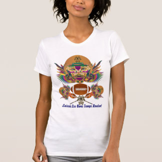Football Mardi Gras think it's to early view notes Tshirt