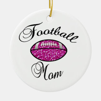 Football Mom Christmas Ornament