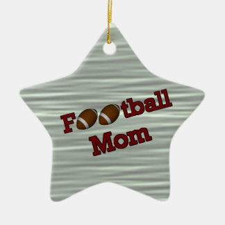Football Mom Cute Customizable Ornament