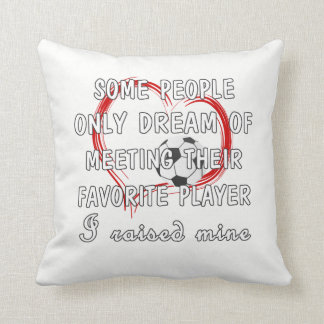 Football Mom Favorite Player Cushion