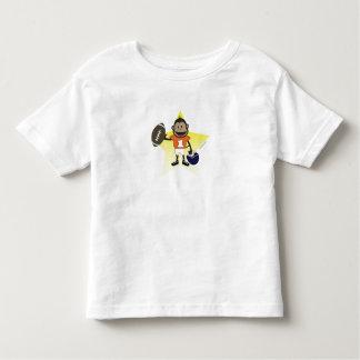 football monkey toddler tee