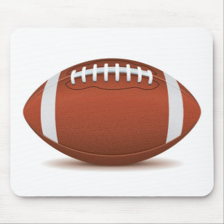 football mouse mat