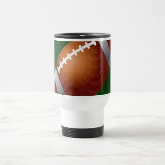 Football Stainless Steel Travel Mug