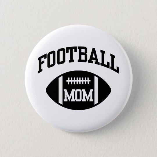 Football Mum 6 Cm Round Badge
