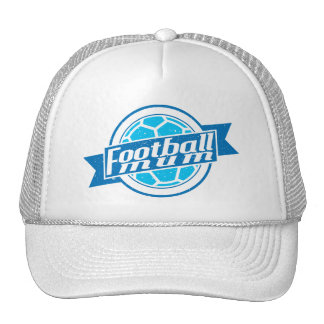 Football Mum (blue) Adjustable Hat Cap