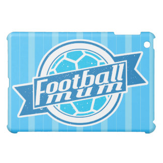 Football Mum (blue) iPad Cover