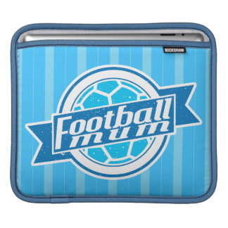 Football Mum (blue) iPad Sleeve