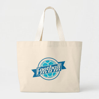 Football Mum (blue) Jumbo Tote Bag