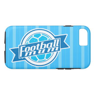 Football Mum (blue) Mobile Cover