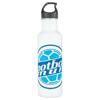 Football Mum (blue) 24oz Water Bottle