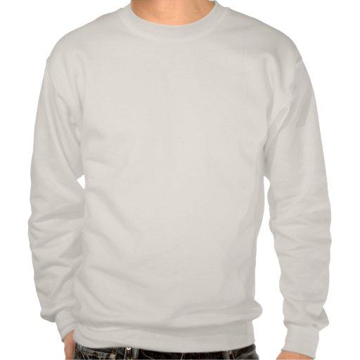Football Mum (blue) Pullover Sweatshirts