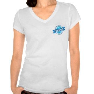 Football Mum (blue) T Shirt