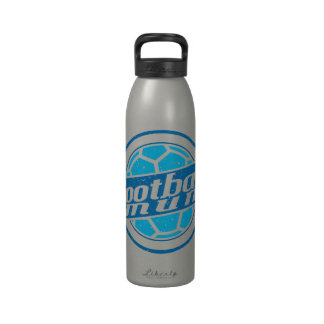 Football Mum (blue) Drinking Bottle