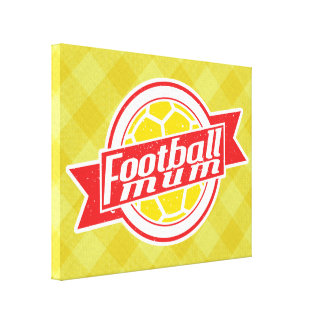 Football Mum Box Canvas