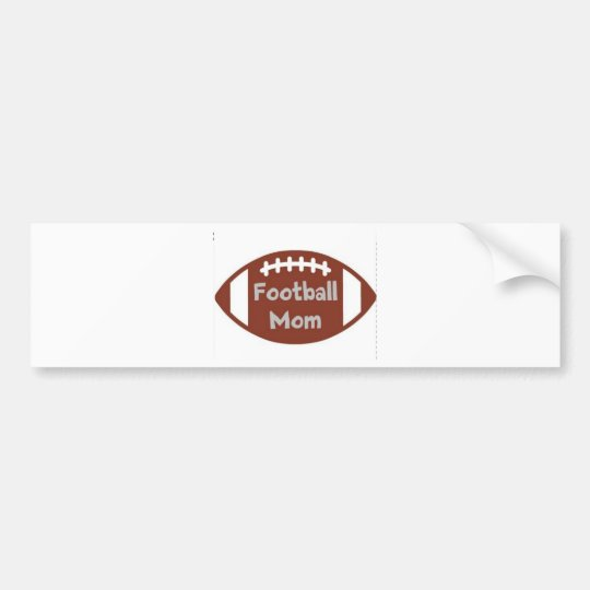 football mum bumper sticker