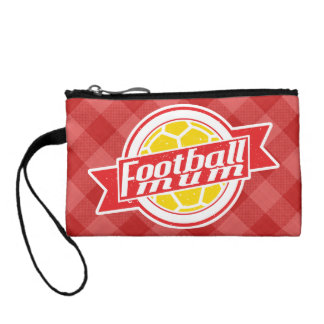 Football Mum Coin Purse