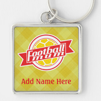 Football Mum Customisable Keyring