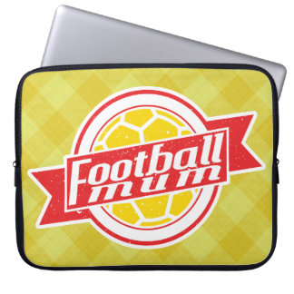 Football Mum Laptop Cover Laptop Computer Sleeves