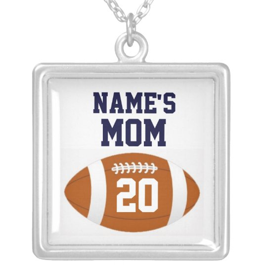 Football Mum Necklace - Personalised