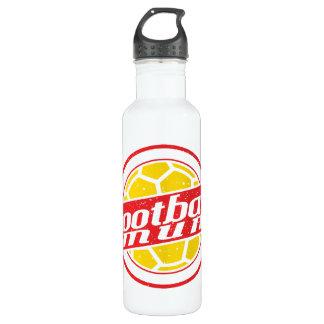 Football Mum 24oz Water Bottle
